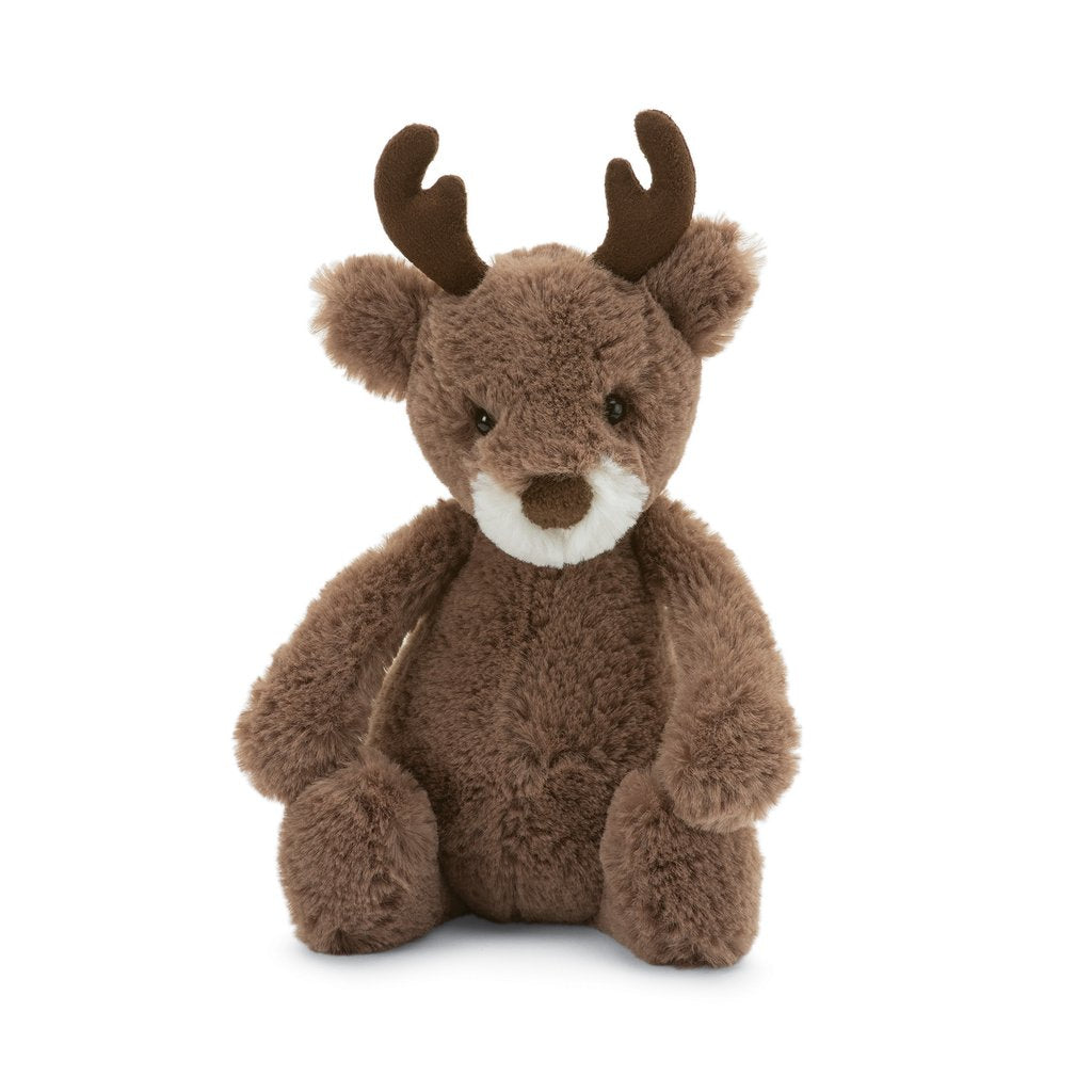 Jellycat Bashful Reindeer, Small
