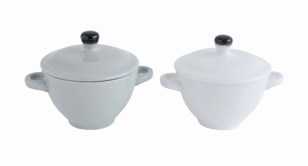 Mini Stoneware Baker with Lid, 2 Colors