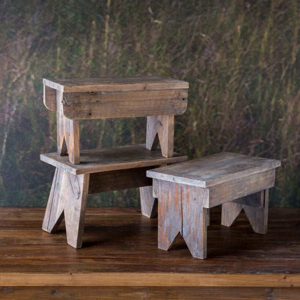 Wooden Foot Stool Riser, 3 Styles