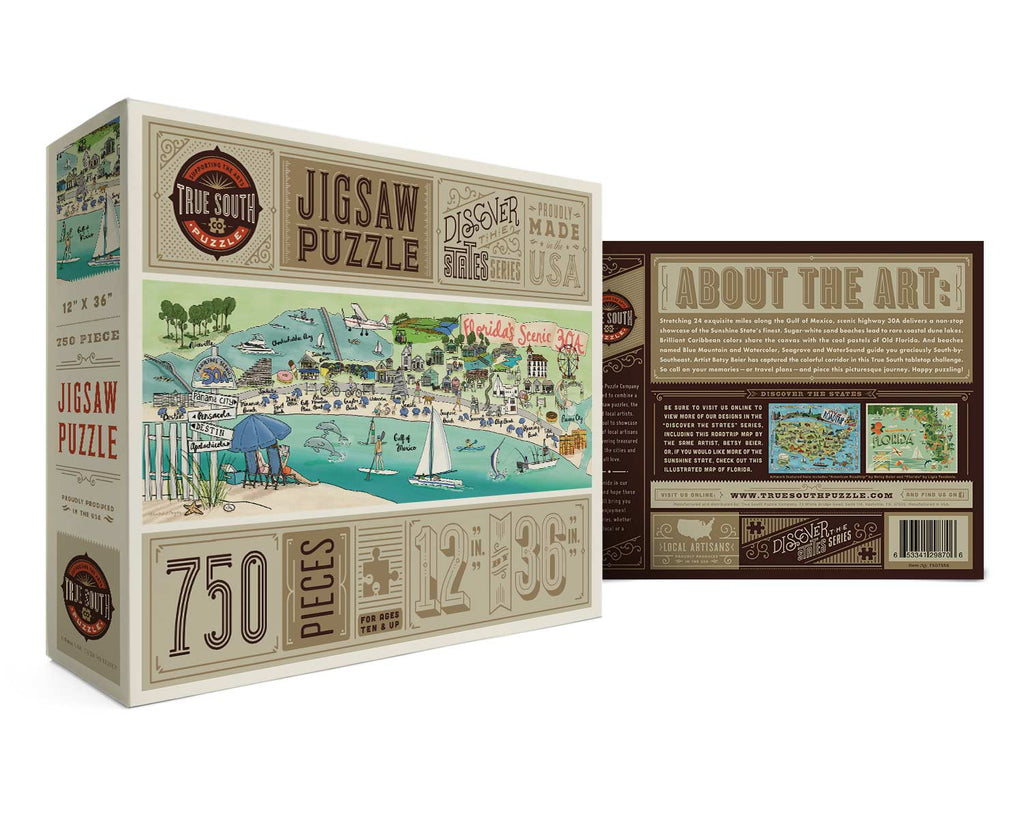 True South Florida 30A Puzzle