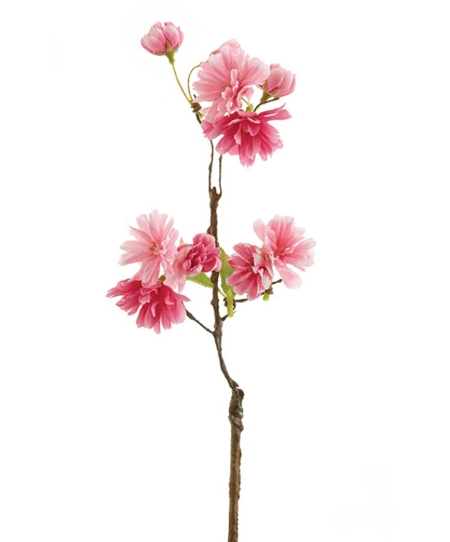 15 Inch Pink Cherry Blossom Cutting
