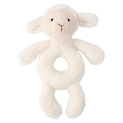 Jellycat Bashful Lamb Ring Rattle