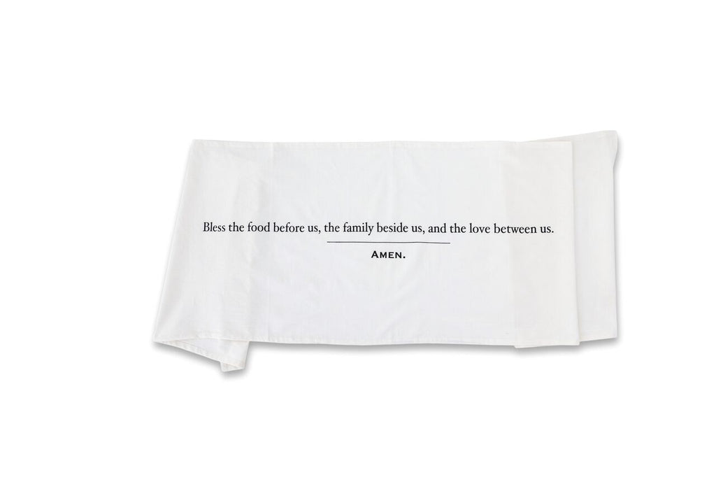 18 x 70 Simple Blessings Crinkle Cotton Table Runner