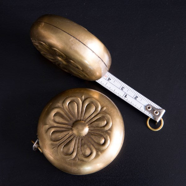 Antique Brass Measuring Tape
