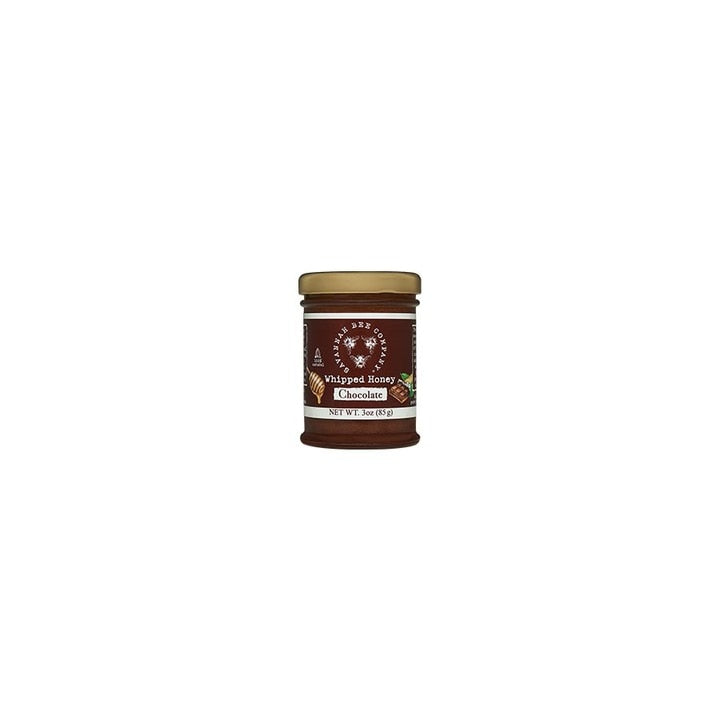 Savannah Bee Company Whipped Honey with Chocolate, 3 Ounce