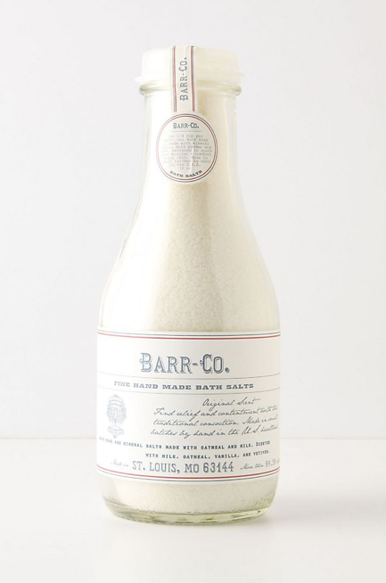 Barr Co. Bath Salts (32 Oz. Glass Bottle)