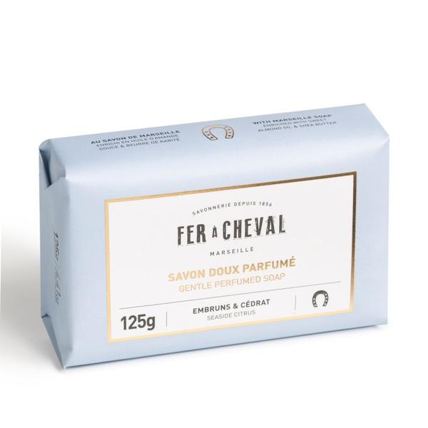 Fer à Cheval Gentle Perfumed Soap Bar - Seaside Citrus