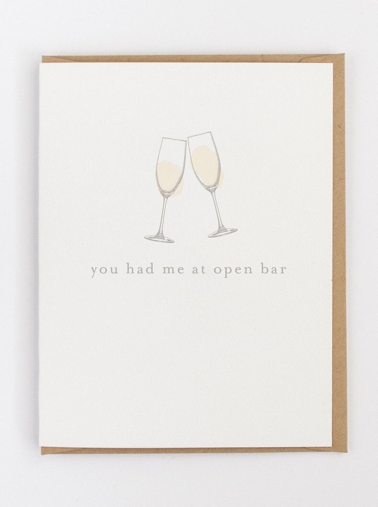 You Had Me Greeting Card