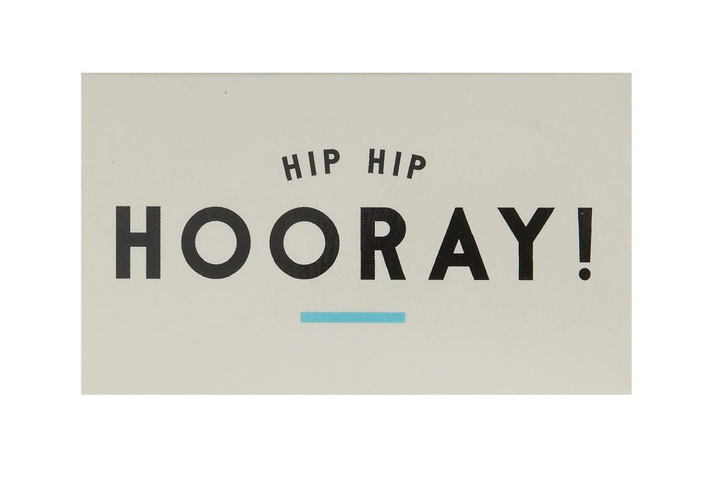 Hip Hip Hooray Boxed Matches