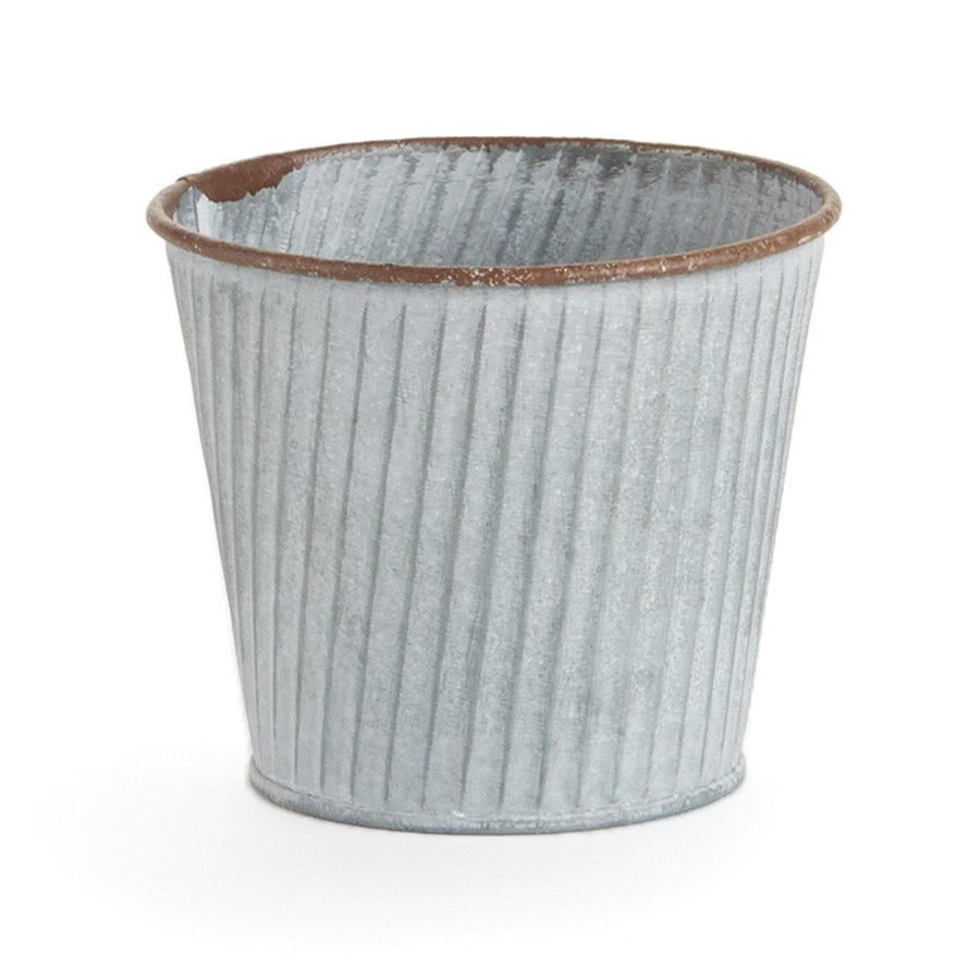 Metal Floral Bucket, 2 Sizes