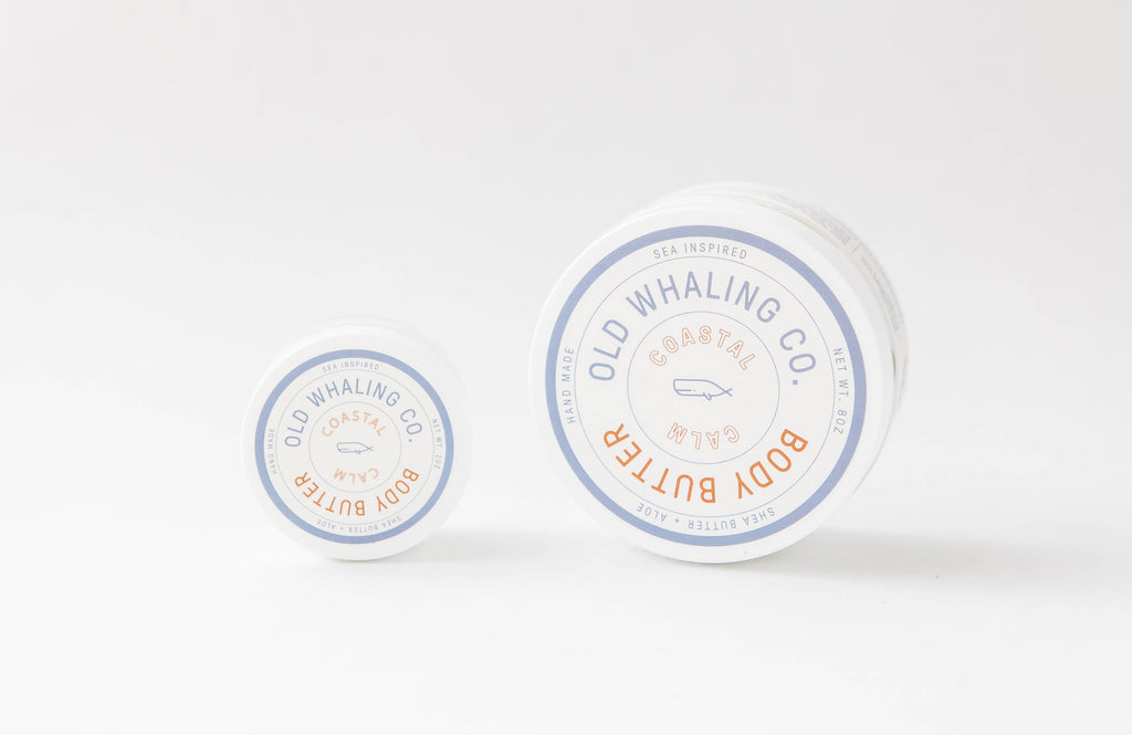 Old Whaling Company - Coastal Calm Travel-Size Body Butter (2oz)
