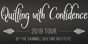 Quilting with Confidence tour