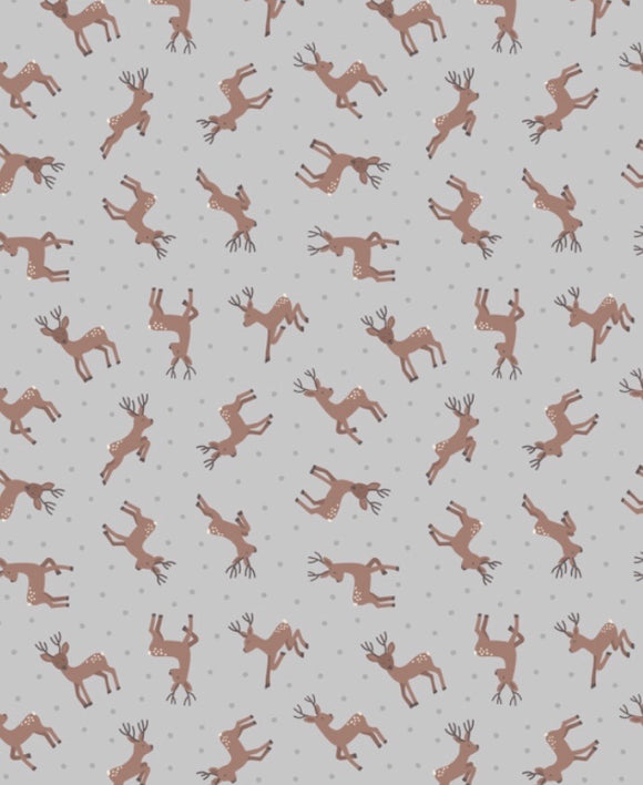 Small Things country creatures ASM11.1 Deer Grey