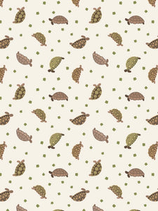 """Small Things pets"" Tortoises on cream background"