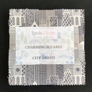 """City Nights"" Charming Squares by Lewis and Irene"