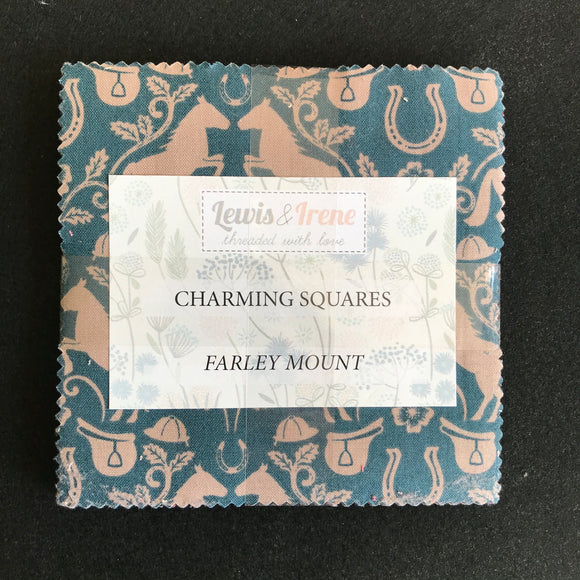 """Farley Mount"" charming squares by Lewis and Irene"