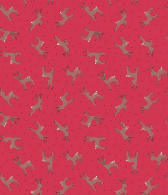 Small Things country Creatures ASM11.3 Deer Red