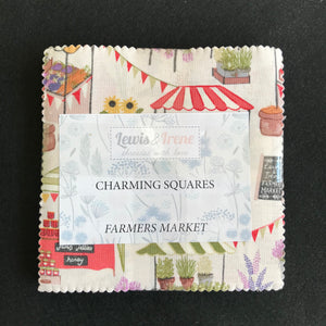 """Farmer's Market"" charming squares by Lewis and Irene"