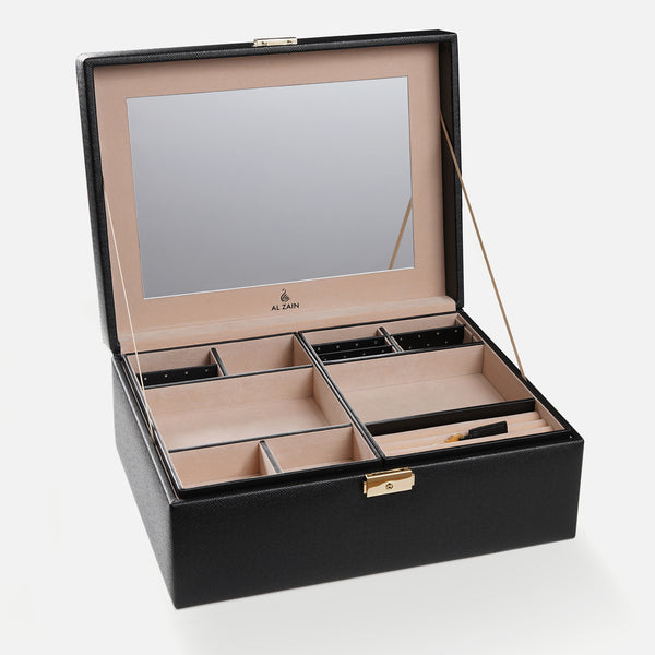 Leather Jewellery Case - Al Zain Jewellery
