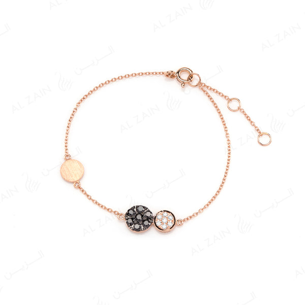 Rose Gold Dusk till Dawn Bracelet with Diamonds