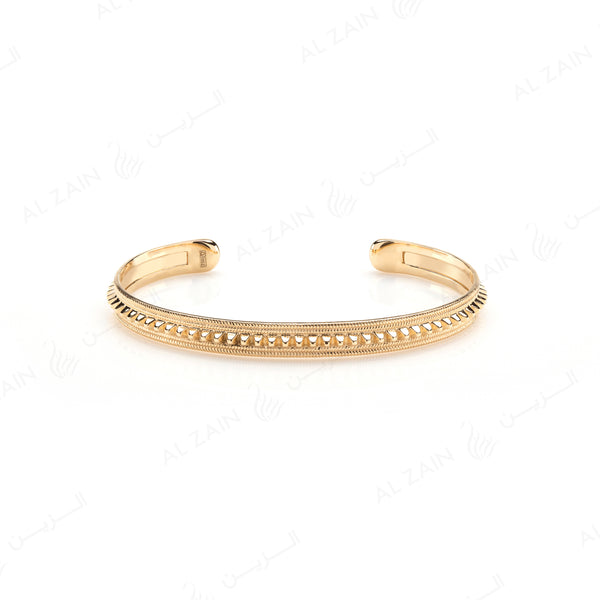 Hab El Hayl Bangle in Yellow Gold