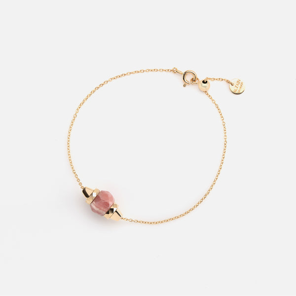 Ruby & Friends Bracelet in Yellow Gold with Yamanasate