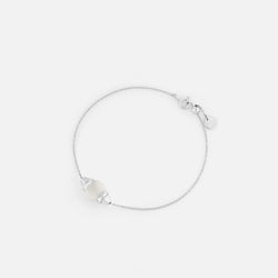 Ruby & Friends Bracelet in White Gold with Quartz Stone - Al Zain Jewellery