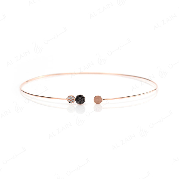 Rose Gold Dusk till Dawn Choker with Diamonds