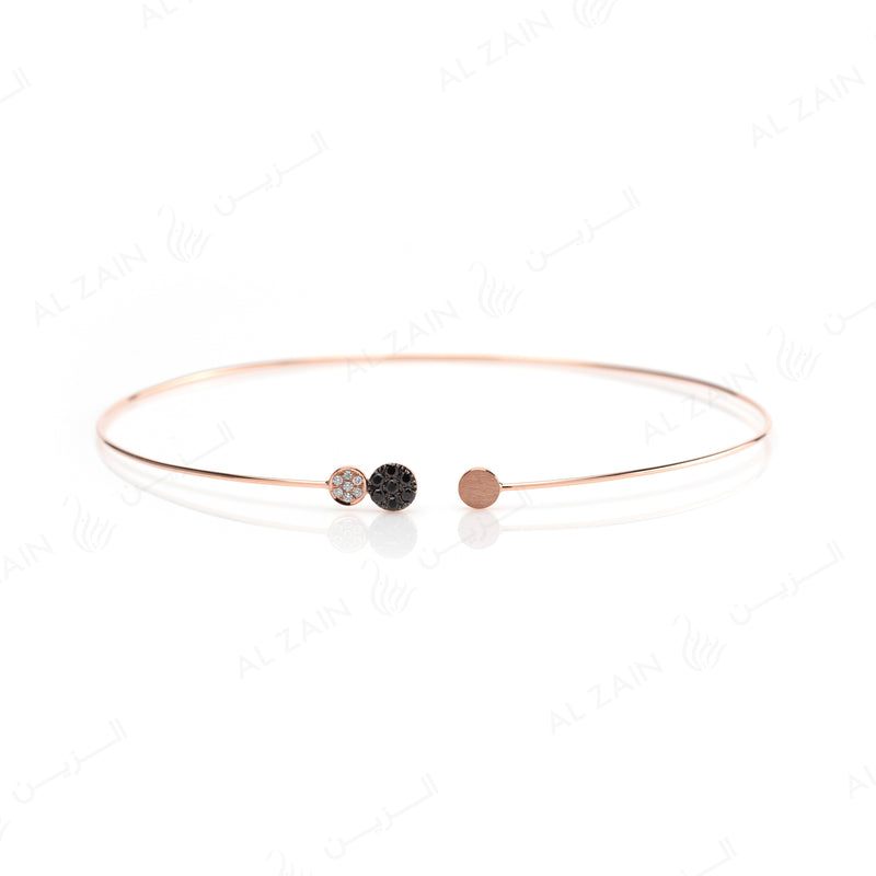 Rose Gold Dusk till Dawn Choker with Diamonds - Al Zain Jewellery