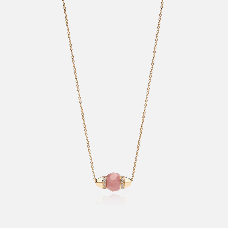 Ruby & Friends Necklace in Yellow Gold with Yamanasate & Diamonds
