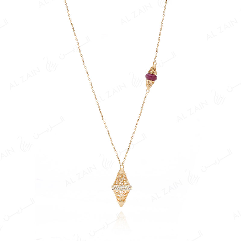 Al Merriyah limited edition necklace for mother's day - Al Zain Jewellery