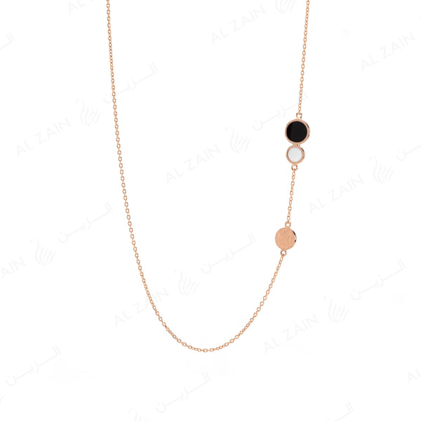 Rose Gold Dusk till Dawn Choker with Enamel
