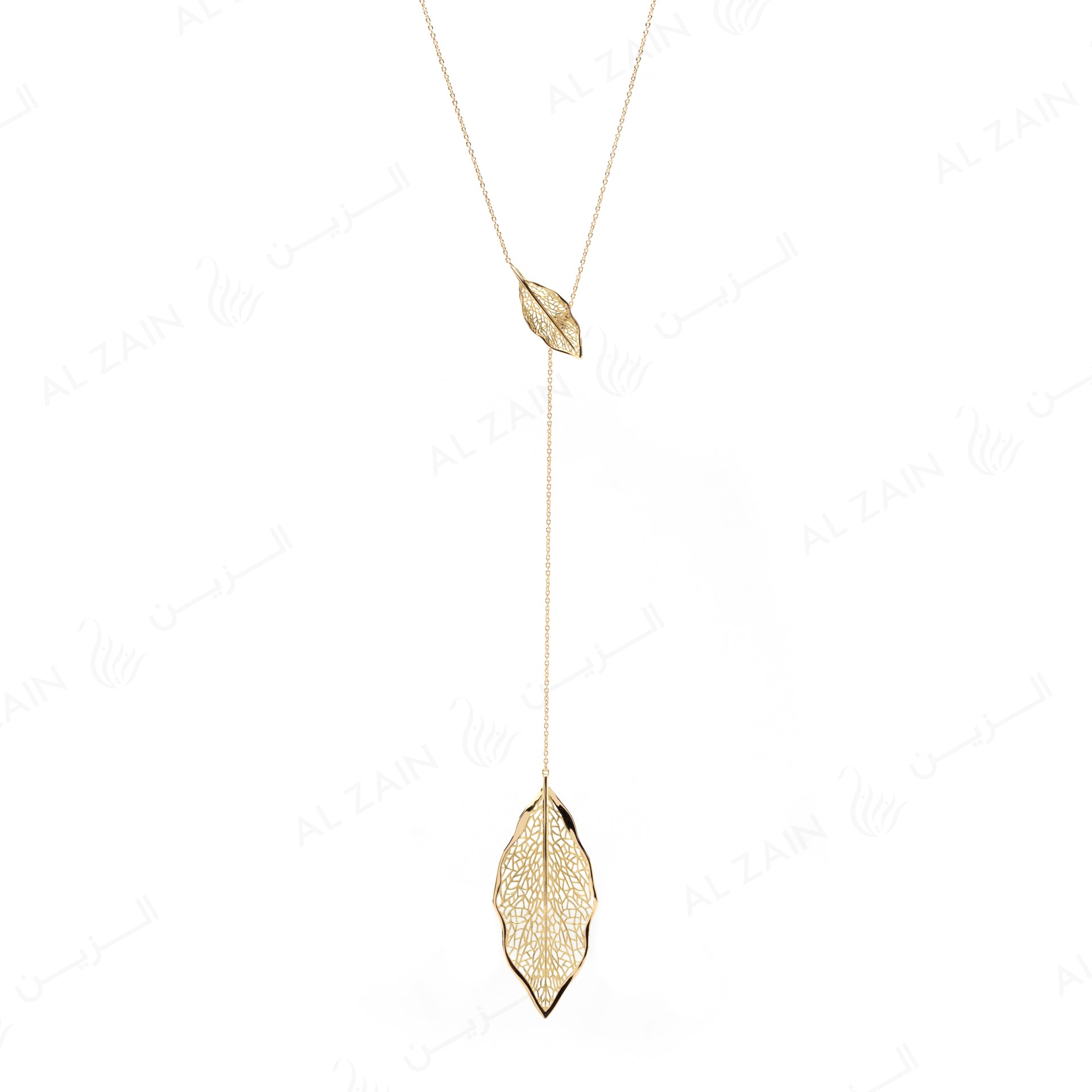Autumn Necklace in Yellow Gold - Al Zain Jewellery