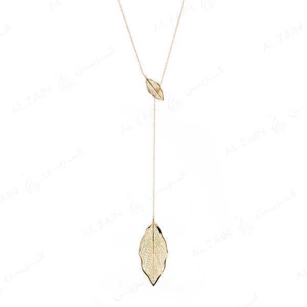 Autumn Necklace in Yellow Gold