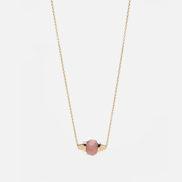 Ruby & Friends Necklace in Yellow Gold with Yamanasate - Al Zain Jewellery