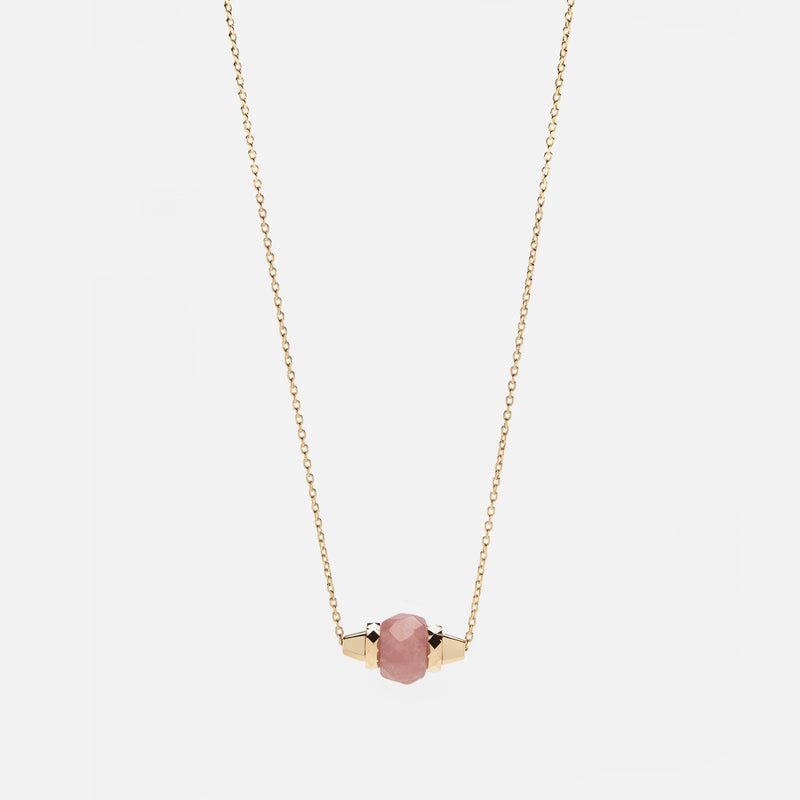 Ruby & Friends Necklace in Yellow Gold with Yamanasate