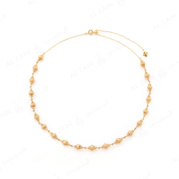 Al Merriyah Necklace in Yellow Gold
