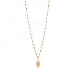 Al Merriyah in 18k Yellow Gold necklace - Al Zain Jewellery