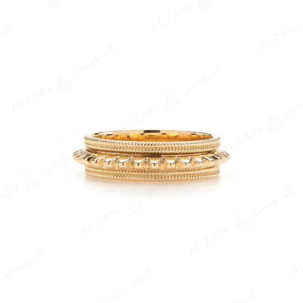 Hab El Hayl Ring in Yellow Gold