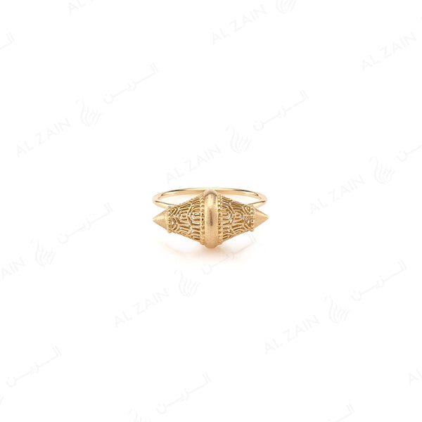 Al Merriyah Ring in Yellow Gold - Al Zain Jewellery