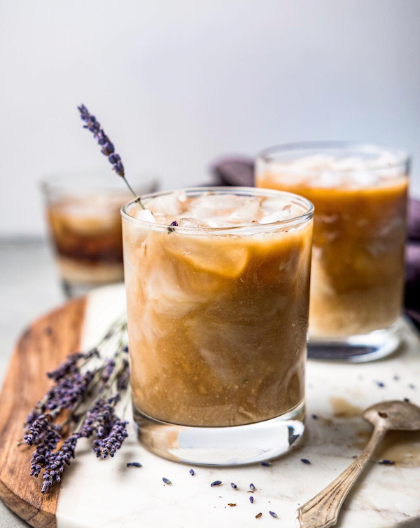Lavender Almond Milk & Cold Brew