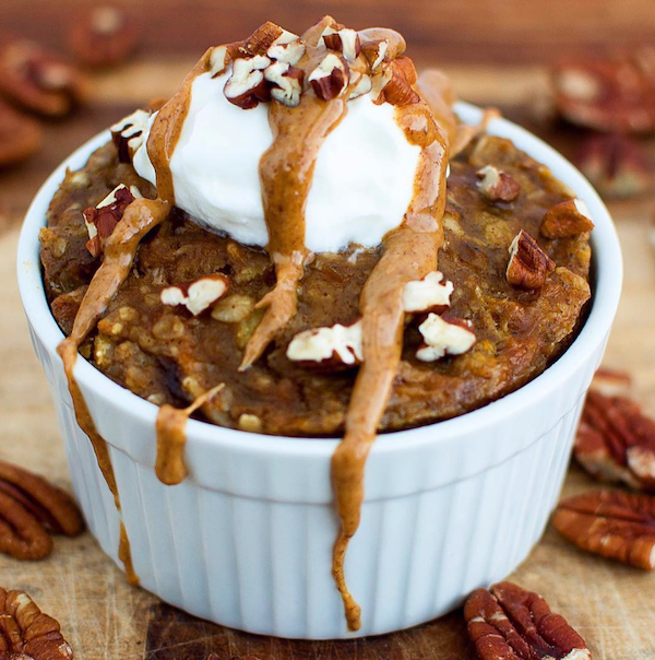 Baked Sweet Potato Oats