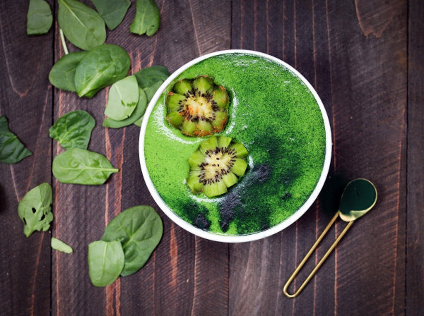 Spinach and Barley Grass Soup
