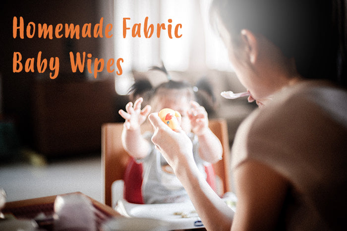 Homemade Fabric Baby Wipes