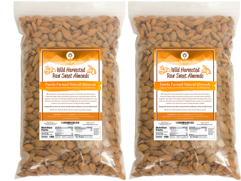 Wild Sweet Raw Almonds