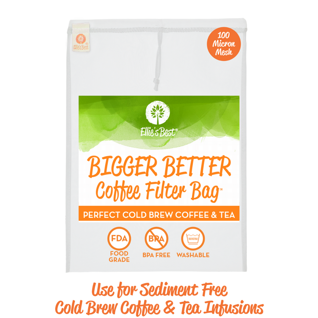 Cold Brew Coffee & Tea Filter Bags - 2 Pack