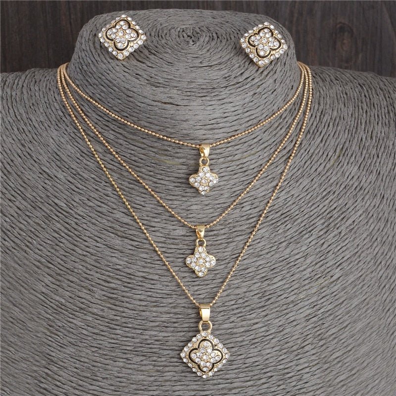Austrian Crystal Jewelry Sets For Women