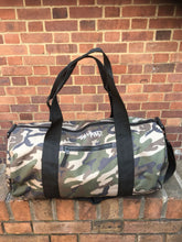 Load image into Gallery viewer, The Hated Camo duffel Bag