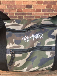 The Hated Camo duffel Bag