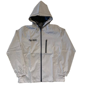 The Hated 3M reflective hooded jacket